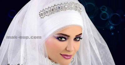 مكياج عرايس محجبات
