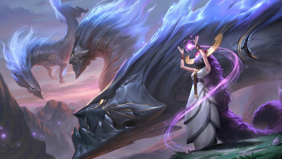 Herald of Dragons, Targon, Legends of Runeterra, 4K, #5.2724