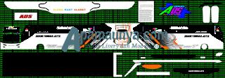 Livery Agam Tugga Jaya Putih Ads JB3+ SHD