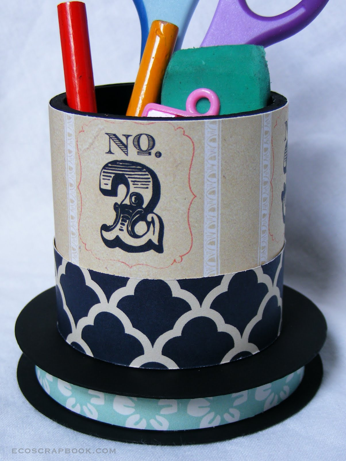 Back-to-school project tutorial: Upcycled pencil holders ...
