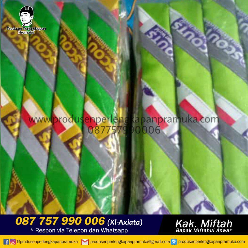 Jual Scarf Pramuka Kalimantan Timur | Grosir Scarf Pramuka Kalimantan Timur | Produsen Scarf Pramuka Kalimantan Timur