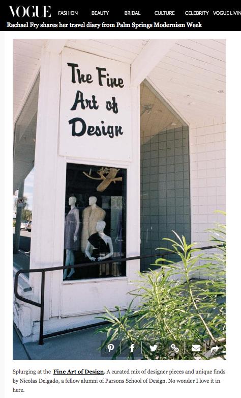 The Fine Art Of Design Press Features