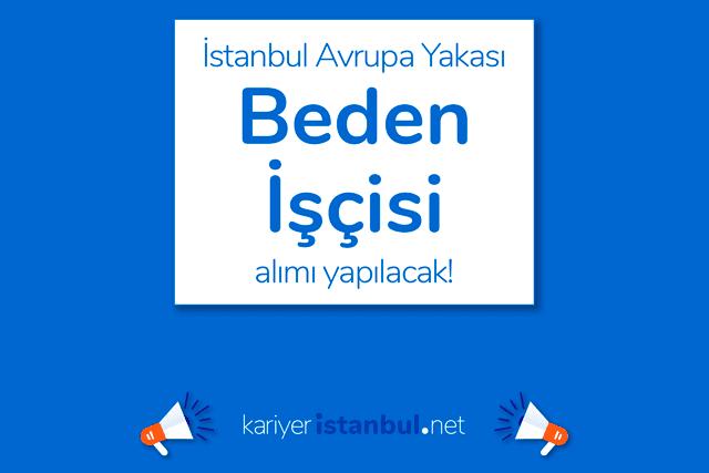 İstanbul Avrupa Yakası Küçükçekmece'de tekstil firmasına işçiler alınacak. Detaylı bilgi kariyeristanbul.net'te!