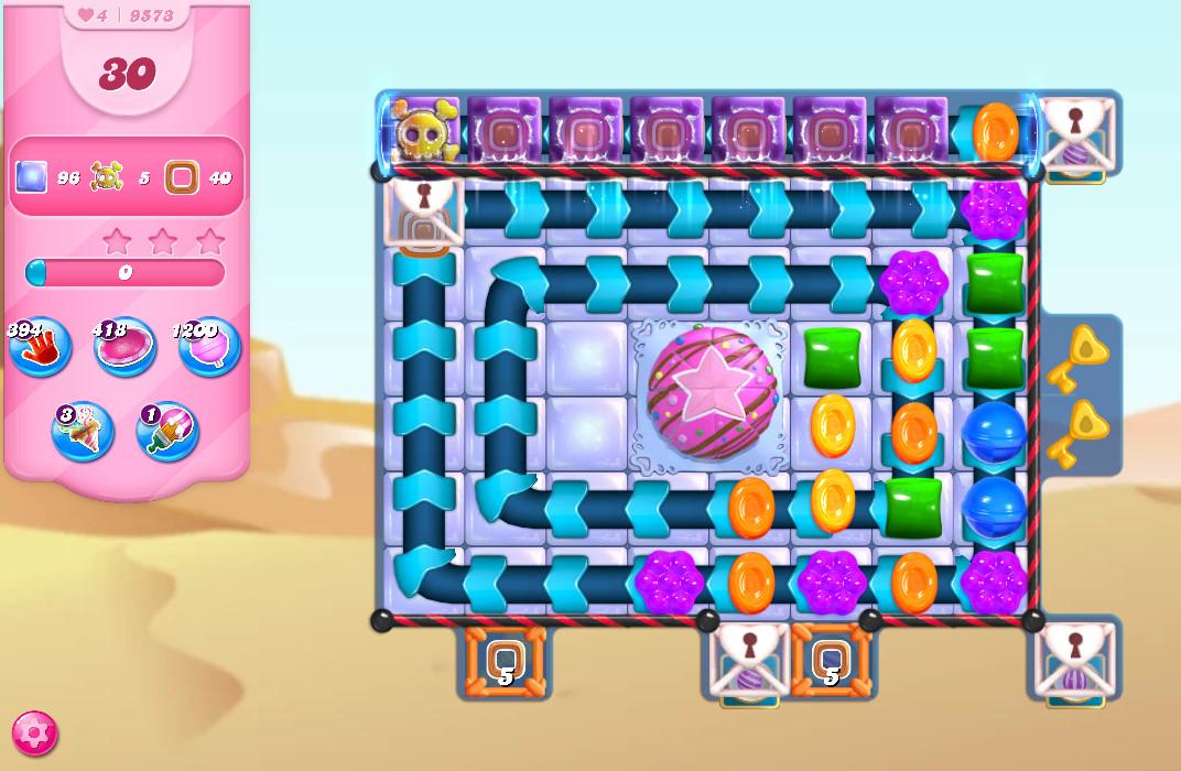 Candy Crush Saga level 9573