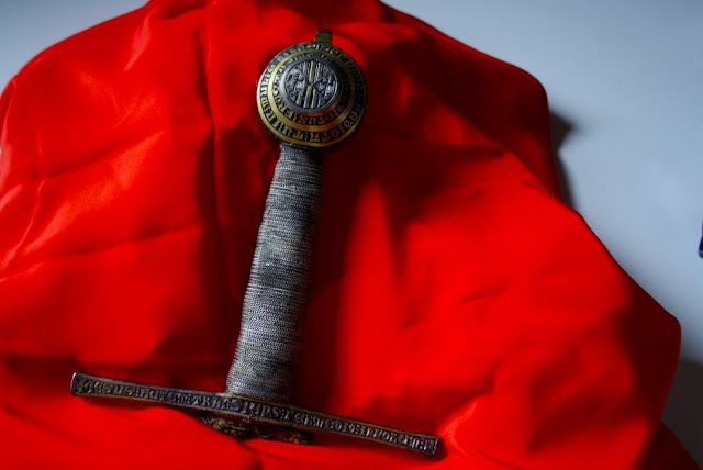 Medieval sword hilt discovered in Palermo