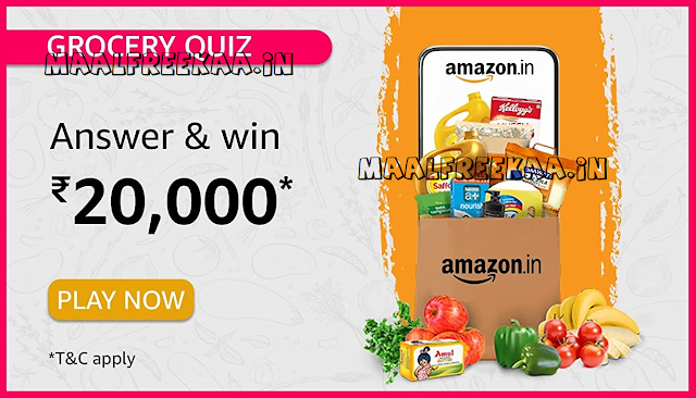 Amazon Quiz Time Answer July