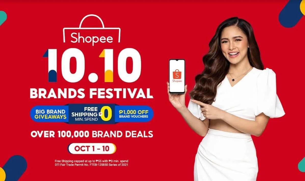 To Kick Off the 10.10 Brands Festival, Shopee Introduces Kim Chiu as a Brand Ambassador