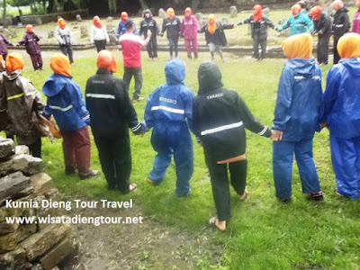 jasa outbound di dieng