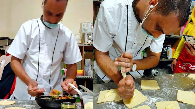 Chef Youssef bersama UMKM MAPAN Depok mengadakan cooking class membuat pastry asin dan manis