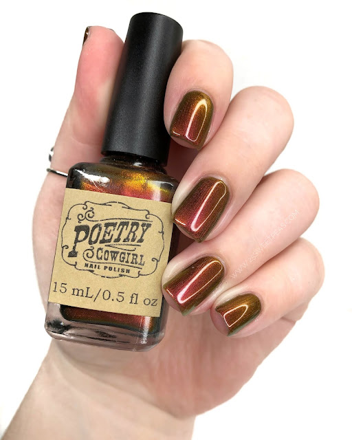 Poetry Cowgirl Nail Polish You Are Stronger than You Think 25 Sweetpeas