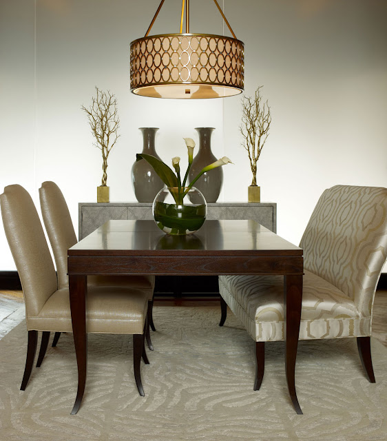 Modern Furniture: 2013 Candice Olson's Dining Room Collection