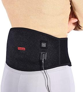 Alat Terapi Pinggang Yosoo Health Gear Heating Pad Belt Pereda Nyeri Pinggang