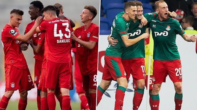 موعد مباراة بايرن ميونخ ضد لوكوموتيف موسكو والقنوات الناقلة في دوري أبطال أوروبا