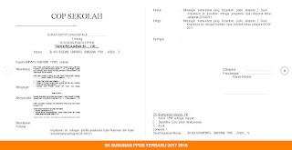 SK SUSUNAN PPDB TERBARU 2017 2018