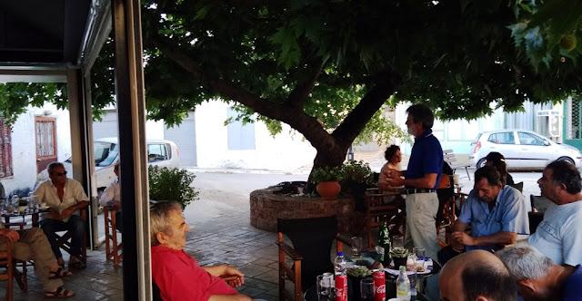 Περιοδεία του ΚΚΕ στον Αγ. Αδριανό με Κώστα Γκόνη και Τάσο Αντωνίου