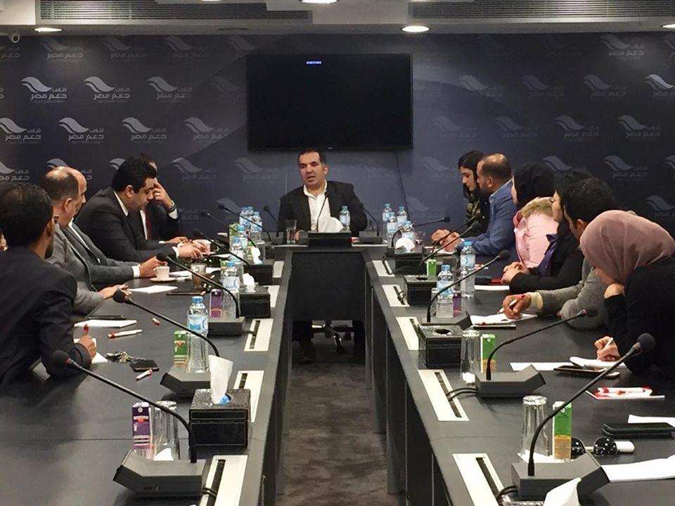 برئاسة سعد نائب الشعب أمانة المهنيين المركزية بــ حزب مستقبل وطن، تعقد أولى اجتماعاتها بعد إعادة تشكيلها