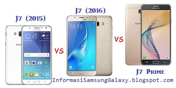 Perbandingan Galaxy J7 (2015) vs J7 (2016) vsJ7 Prime