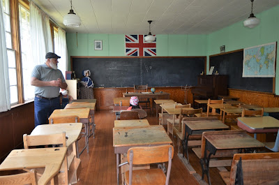 Big Bend School Classroom, Caroline Wheels of Time Museum