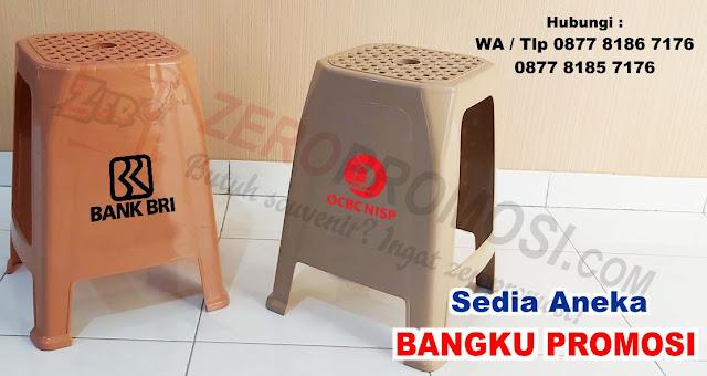 Kursi baso promosi, kursi iklan Baru, Kursi bakso plastik untuk promosi / iklan, Bangku Kursi Tinggi Iklan Sablon Promo dengan harga terjangkau