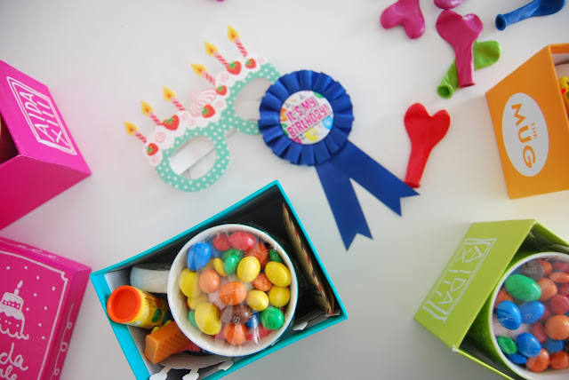 kit de cumpleaños viajero DIY. Taza personalizada
