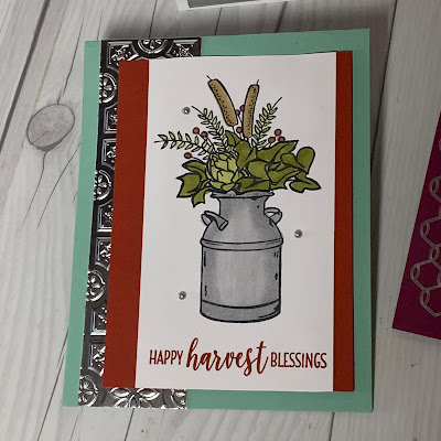 Card Sample of Country HOme Stamp Set