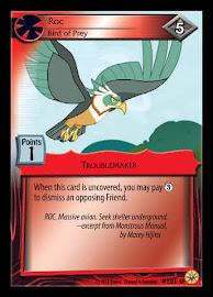 My Little Pony Roc, Bird of Prey Friends Forever CCG Card