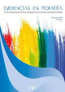 """Fluidoterapia y mucho más en """"Evidencias en Pediatría"""" (avance del número de septiembre de 2015)"""