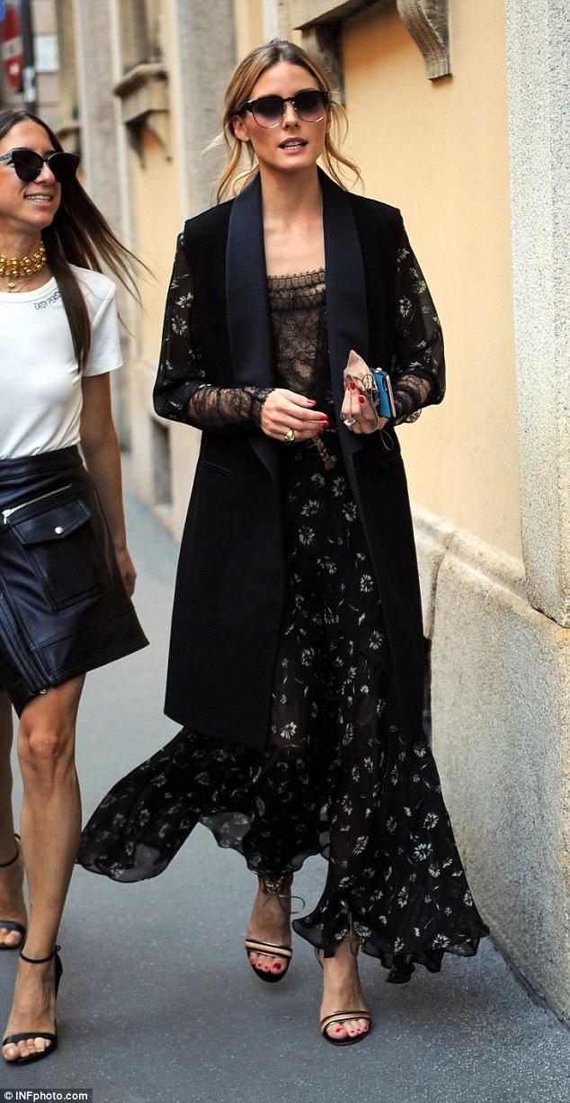 The Olivia Palermo Lookbook Olivia Palermo At Milan Fashion Week Vii