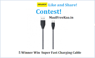 Free  Super Fast Charging Cable