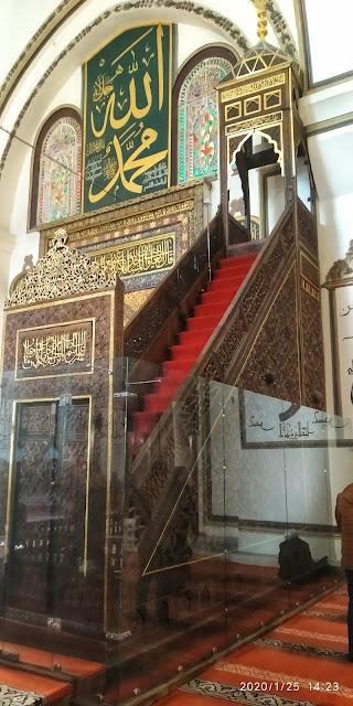 Bursa Ulu Camii minber