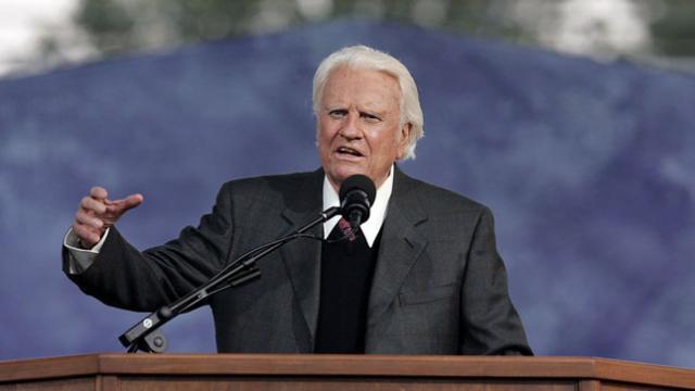BREAKING: American Evangelist Billy Graham Dies At 99