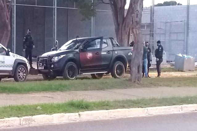 Homens fortemente armados em carro com placas do Rio são abordados em Vilhena e caso vai parar na PF