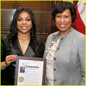 "Washington DC Mayor proclaims February 8th as ""Taraji P. Henson Day"""