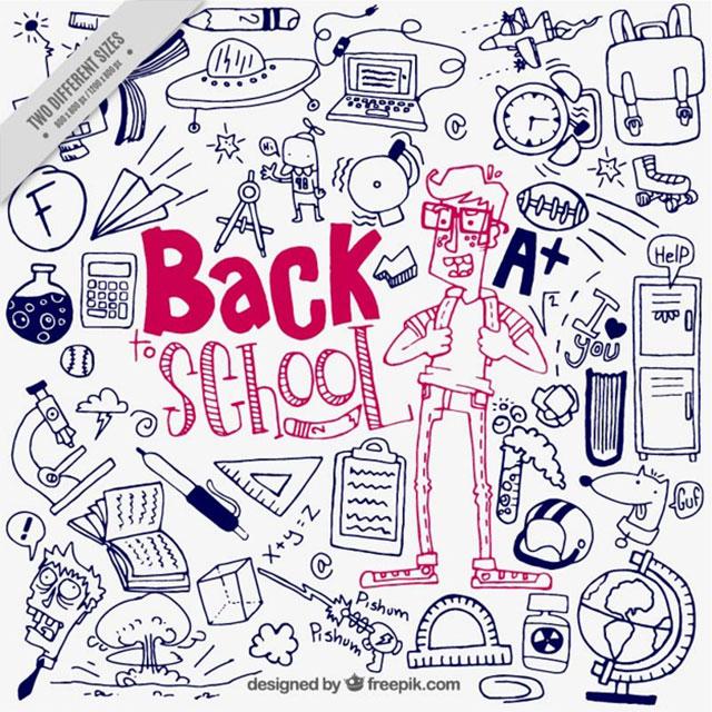 vuelta_a_la_escuela_con_dibujos_vector