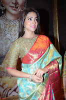 Shriya Saran Looks Stunning in Silk Saree at VRK Silk Showroom Launch Secundrabad ~  Exclusive 022.JPG