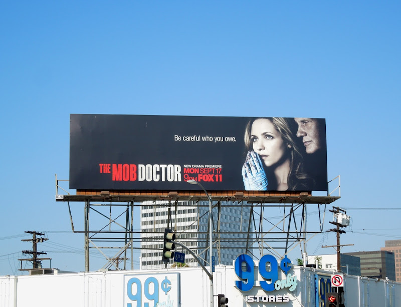 The Mob Doctor Fox billboard