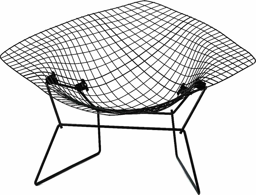 A Harry Bertoia diamond chair 1952, Kroll