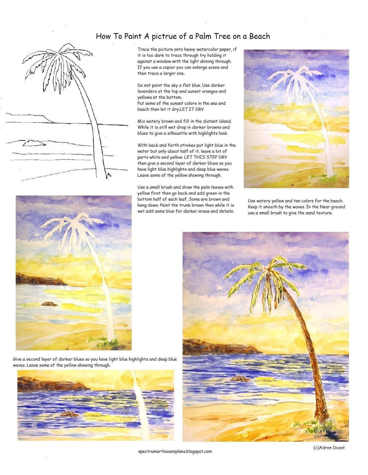 Adron S Art Lesson Plans