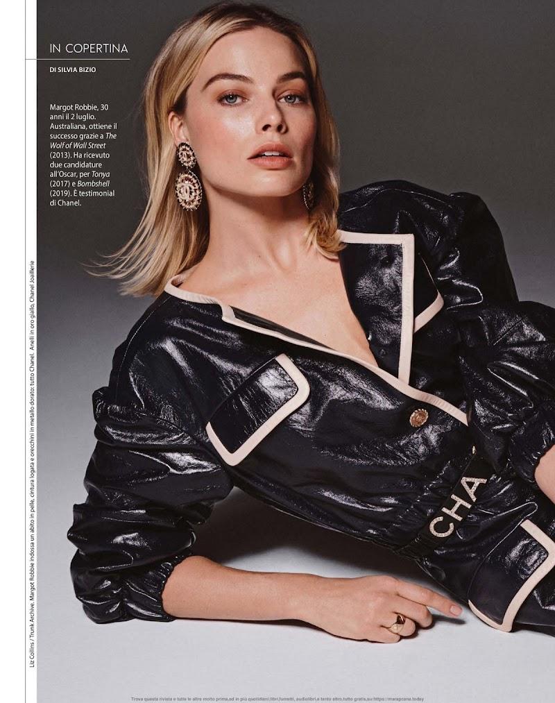 Margot Robbie Featured in F Magazine - February 2020