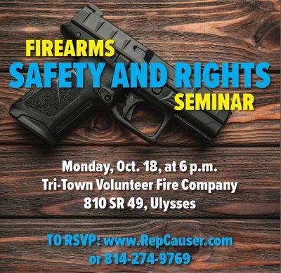 10-18 Firearms Seminar, Ulysses, PA