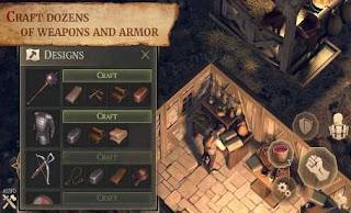 Grim Soul: Dark Fantasy Survival Apk 1.0.7b Mod Coins for android
