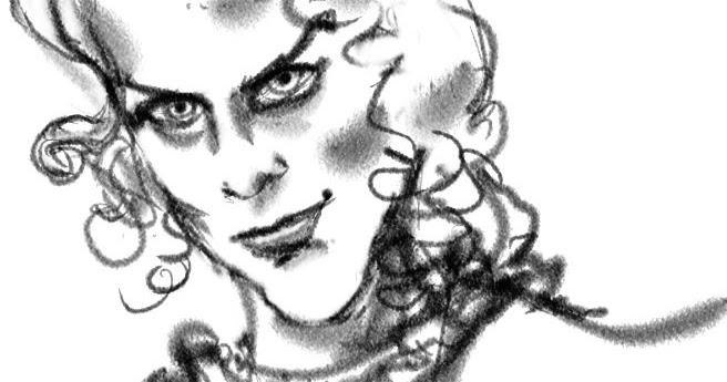 Caricatures: Nicole Kidman