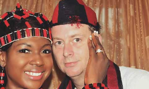 Is all well with Nollywood actress, Susan Peters marriage?