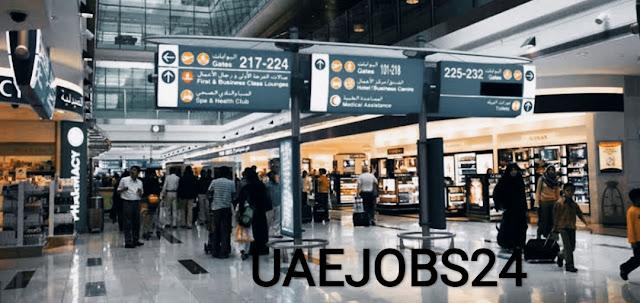 وظائف مطار الامارات بدبي وابوظبي براتب ل5500درهم