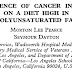 Incidência de câncer em homens em uma dieta rica em gordura poliinsaturada