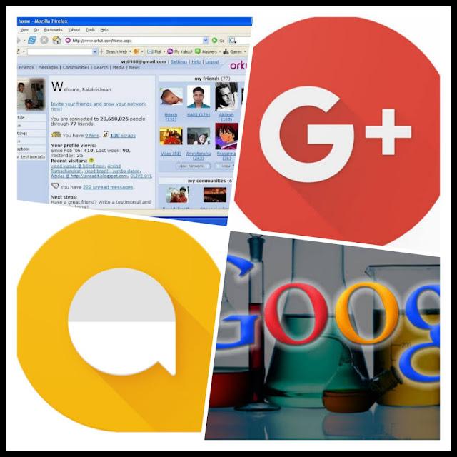 .Google Closed Some Services.Google के द्य्वारा बंद किये गए कुछ अपनेही services