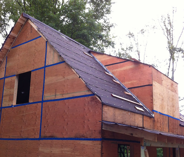 Gable Roof Overhang: Green In Greenville: Insulating The Roof With Polyiso Foam