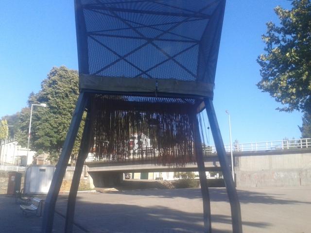 Espigueiro -  Usado em tempos para secar os cereais