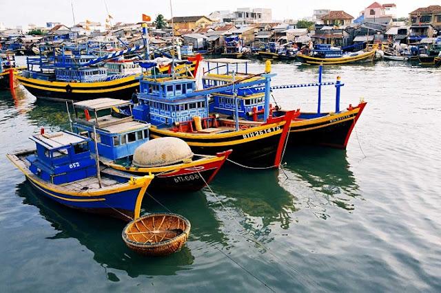 Cảng cá Bình Châu huyện Xuyên Mộc