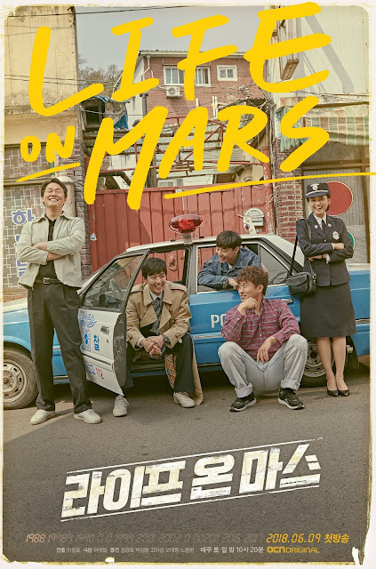 First Impressions Life on Mars KDrama